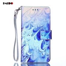 все цены на IMIDO Flip Blue Light Phone Case For iPhone XS MAX PU Leather Holder Stand Back Cover For iPhone X XR 8 7 6 6S Plus 5S SE Coque онлайн