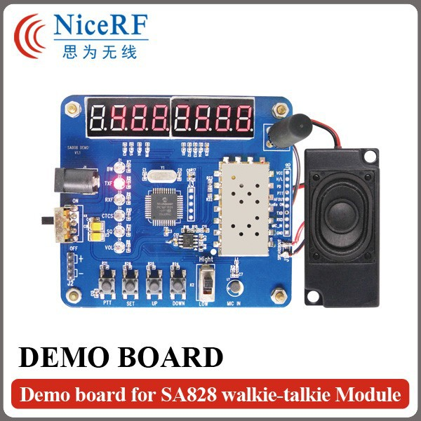 Demo Board for SA818 Walkie Talkie Module
