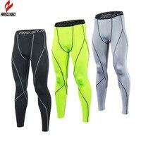 ARSUXEO Hombres Deportes Elásticos Pantalones de Las Medias de Compresión Medias Capa Base Correr Correr Gimnasio Workout GYM Pantalones Ropa