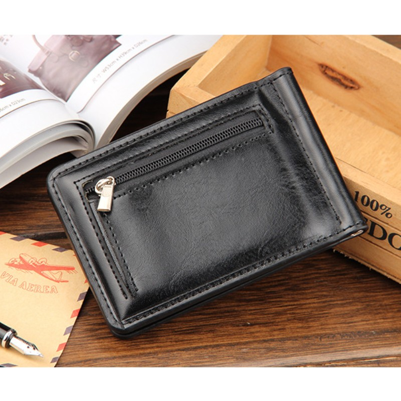 bolsa cion mulheres bolsa de Size : 11*8.5*1cm For Men Wallet, Mini Money Clips