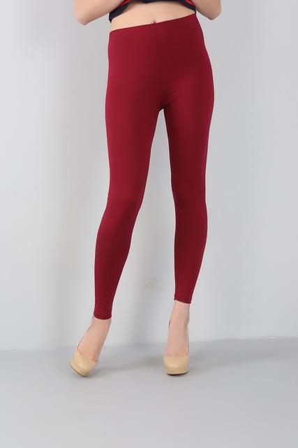 fashion 2017 spring and summer autumn women bamboo fiber high elastic slim leggings plus size 2XL-6xl 7XL