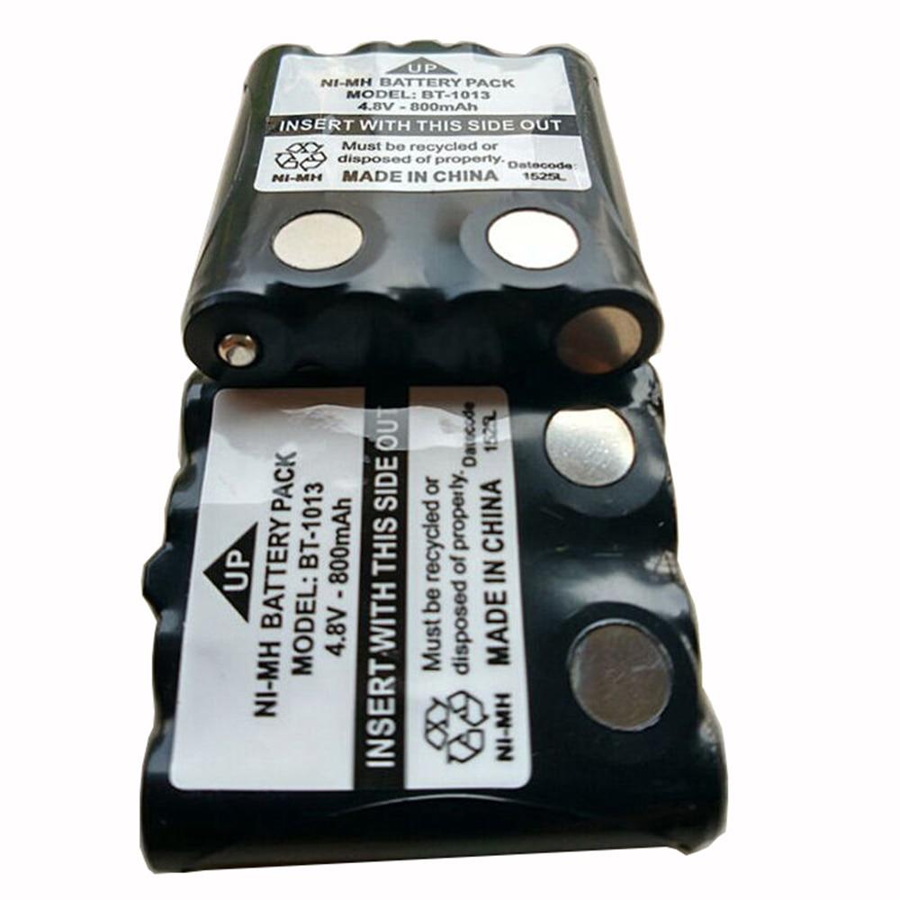 2x Ni-MH Battery Pack For Motorola Radio Walkie Talkie TLKR-T60 TLKR-T80 XTB446