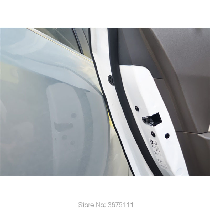 10M Door Protection Strips Rubber Edge Doors Moldings Side Protector Sticker for Toyota corolla rav4 camry prius hilux avensis