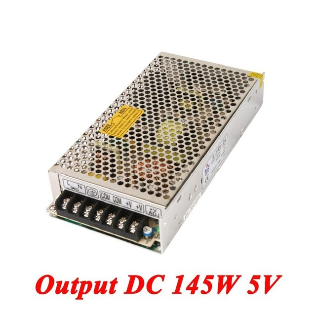 S 145 5 switching power supply 145W 5v 29A,Single Output voltage ...