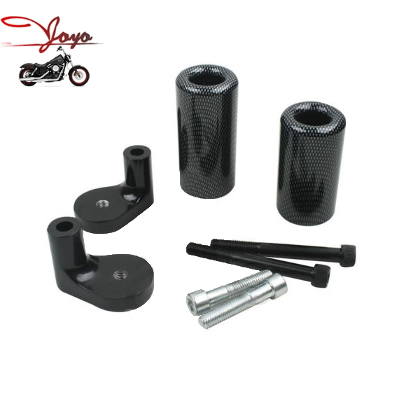 Black Frame Slider Protector for Kawasaki ZRX 1100 1999-2000 ZRX 1200R 2001-2005