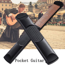 10 inch Black 6 Fret Portable Pocket Guitar Mahogany Chord Guitar Exercisers Mini Guitar For Children Gift left handed guitar the big britpop guitar chord songbook
