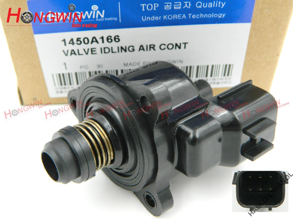 Asli No: 1450A166 Kecepatan Idle Air Control Valve Cocok Mitsubishi Chrysler Dodge Lioncel Lancer MD613992 MD614743 MD628166