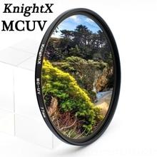KnightX 49 52 55 58 62 67 77 MC UV MM Filter for Nikon Canon EOS 6D 100D 70D 700D 5D D5200 lens accessories 1200d 52mm 58mm 67mm