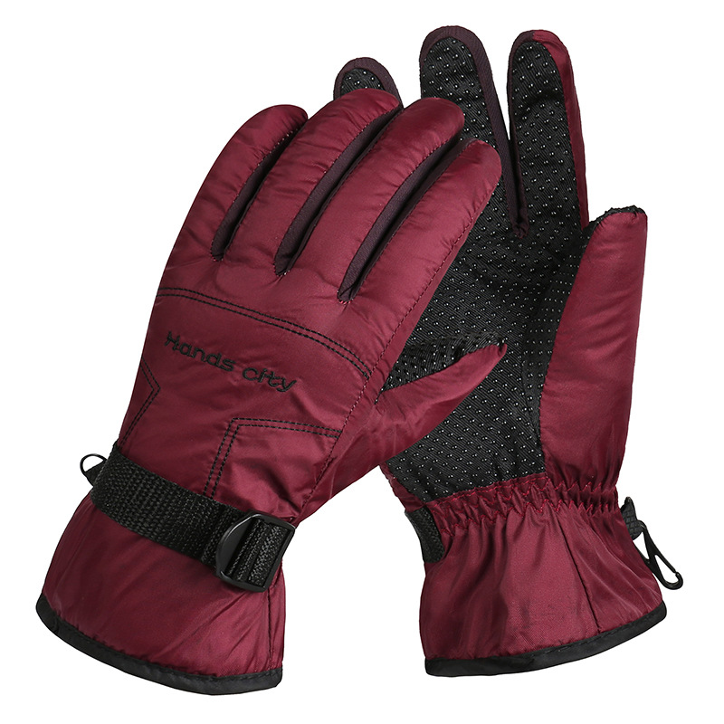Winter Skiing Gloves Thick Warm Windproof Snow Ski Gloves