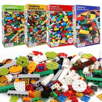 1000 sztuk DIY Minecrafted kreatywny Building Block cegły zestaw nauka edukacyjne zabawki dla dzieci kompatybilny Legoe Xmas prezent