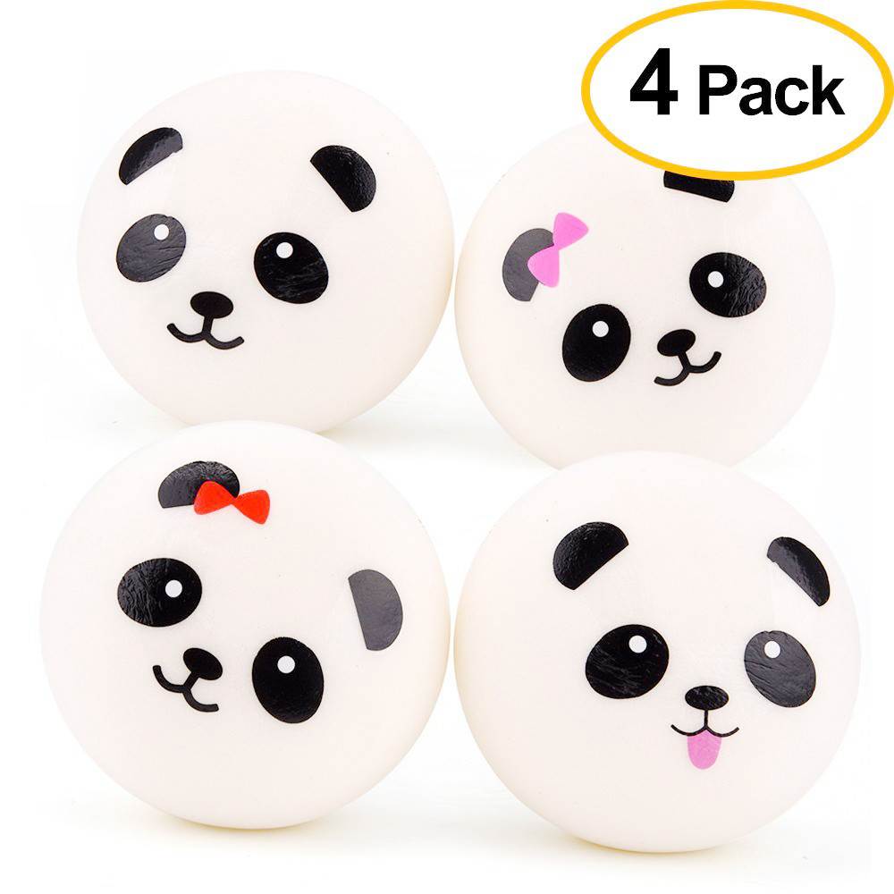 Flawless 4PCS Cartoon Cute Cake Squishy Slow Rising Cream Scented Valentine Day Gift Toy Casual Kids Toys Rising Relief Roys