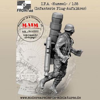 1 35 I F A Hummel (Infanterie Flug-Aufklarer)-Schwabenland armii żywiczny Model żołnierza GK zestaw niezmontowany i niepomalowany zestaw tanie i dobre opinie NoEnName_Null Unisex Military Żywica Półprodukty produkt Montaż Zachodnia animiation Żołnierz części i podzespoły elektroniczne