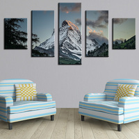 5 Panel The Winding Path Modern Home Wall Decor Canvas Picture Art Print WALL Painting Set