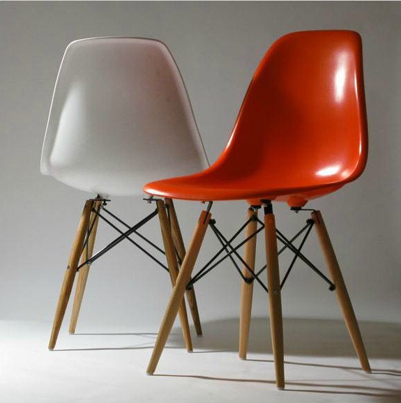 Eames Chair Wooden Ikea Designer Casual Modern Beech Chairs Upholstered