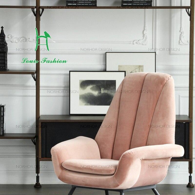 velvet lounge chair promotion-shop for promotional velvet lounge
