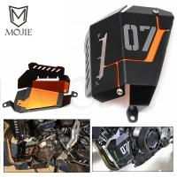 Water Coolant Recovery Tank Shielding Guard Frame Radiator Side Cover Protector For Yamaha MT 07 FZ
