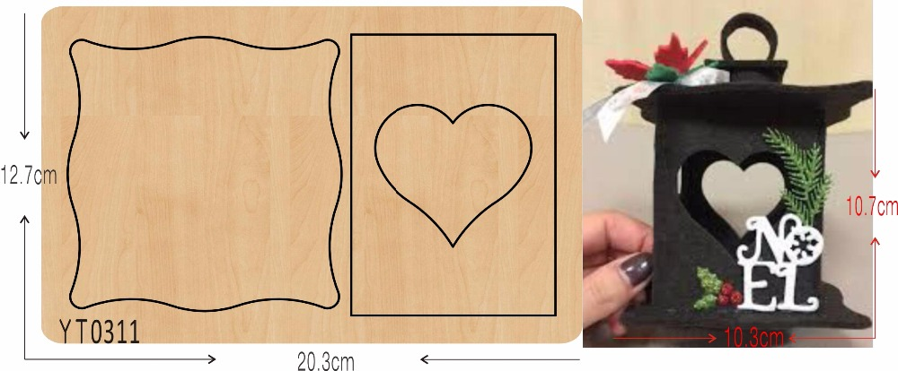 Little Lantern 1 DIY wooden die cutting tool die Scrapbook mold YT0311