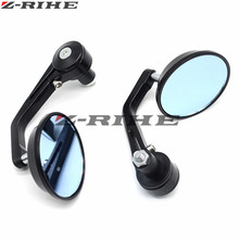 7/8 22mm handle bar motorcycle end mirror Motorcycle Mirror For bmw S1000R R1200ST R 1200ST 1200 ST 2006- 2017 mt09 07
