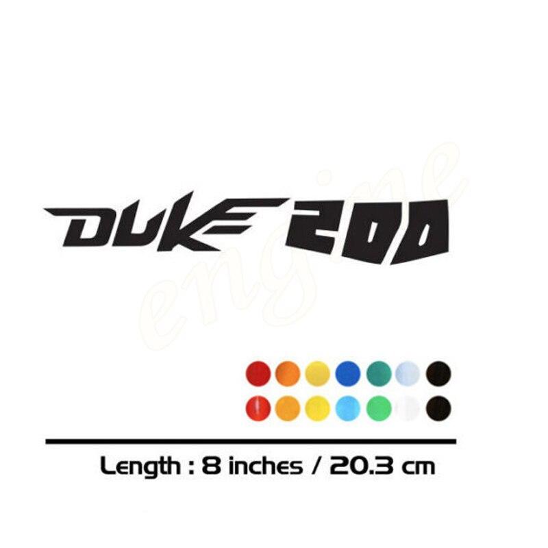 2 X Neue Verkäufe Moto Rcycle Bike Kraftstoff Tank Räder Verkleidung Notebook Gepäck Helm Moto Aufkleber Abziehbilder Für Ktm Duke 200 Duke200 Angenehm Im Nachgeschmack