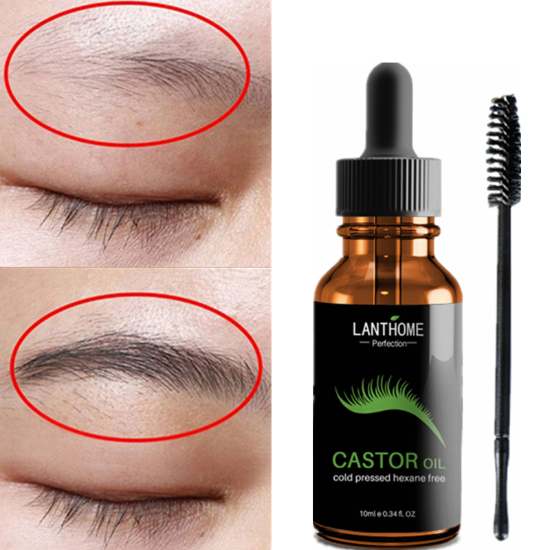 100% Natural Castor Oil For EyeBrow Growth