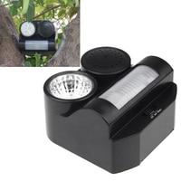 Hot Humane Protective Black Ultrasonic Infrared Harmless Sound Flashlight Birds Repeller Controller