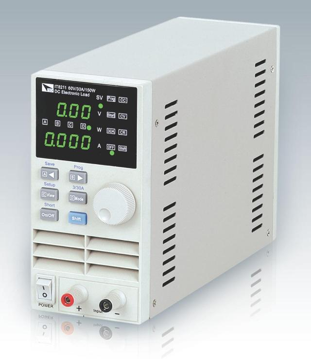 IT8211 High Resolution 1mV/1mA DC Electronic Load AC110-220V Programmable electronic load meter Battery test цена