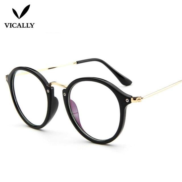 Kacamata Fashion Wanita Pria Batal Lens Retro Kacamata Anti Radiasi  Komputer Kacamata Baca Optik Kacamata Bingkai 9f79e6f758