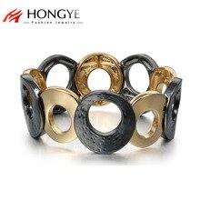 Новые модные регулируемые браслеты в стиле панк, хип-хоп, браслет для мужчин и женщин, ювелирные браслеты