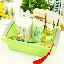 Thickened multifunctional rectangular storage box shaped small colorful container  22*14*6.8CM free shipping