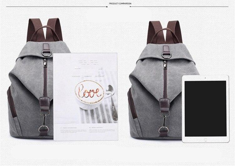 HTB1N8iVX5frK1RjSspbq6A4pFXal QINRANGUIO Women Backpack Fashion Canvas Backpack Large Capacity School Bags for Teenage Girls Backpack Female Backpack Women