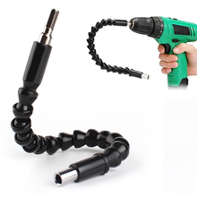 295mm Electronics Drill Black Flexible Shaft Bits Extention Screwdriver Bit Holder Drill Accessories Connect Link Shaft drill drill special one meter long shaft handle set stainless steel flexible shaft high precision handle