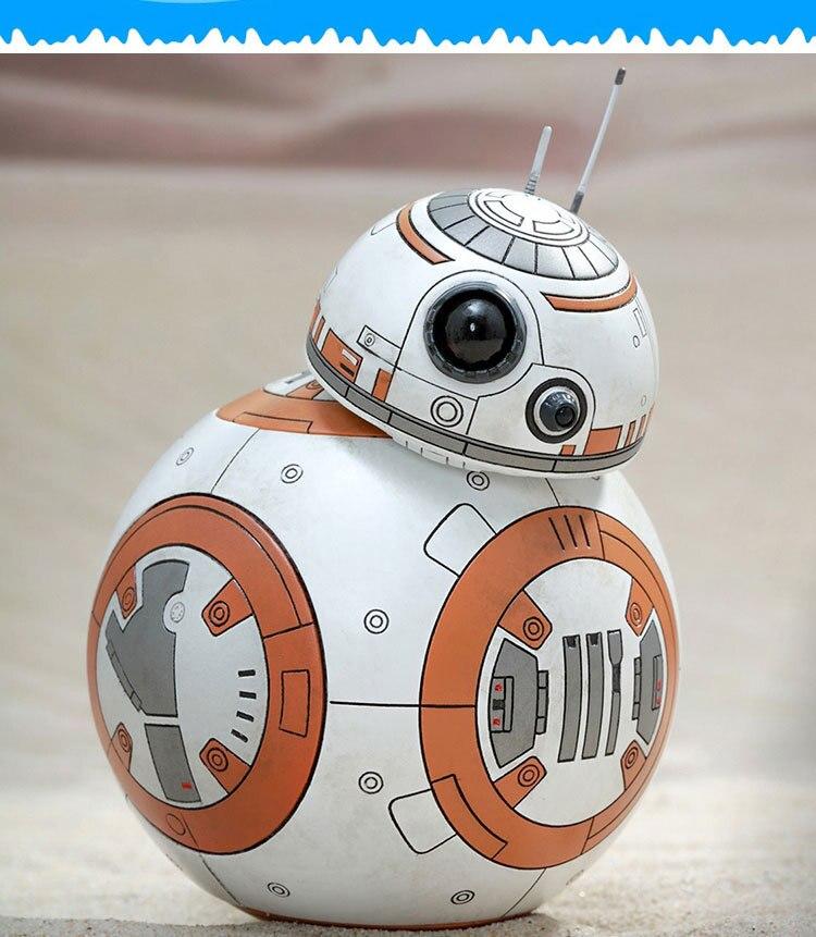 8.5 cm de Star Wars The Force desperta BB8 BB-8 robô figuras de ação PVC brinquedos figuras de coleta de brinquedos para presente de natal