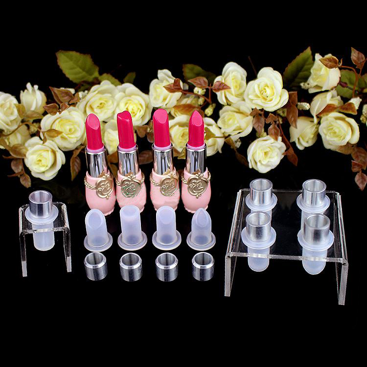free shipping single cavity 12.1mm silicone lipstick mould