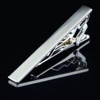 Mdiger Señores Corbata Lazos Tono Clip de Corbata Pin Bar Corbatas Accesorios de Ropa Para Hombre de Cobre Clips de Lazo Bar 10 UNIDS/LOTE