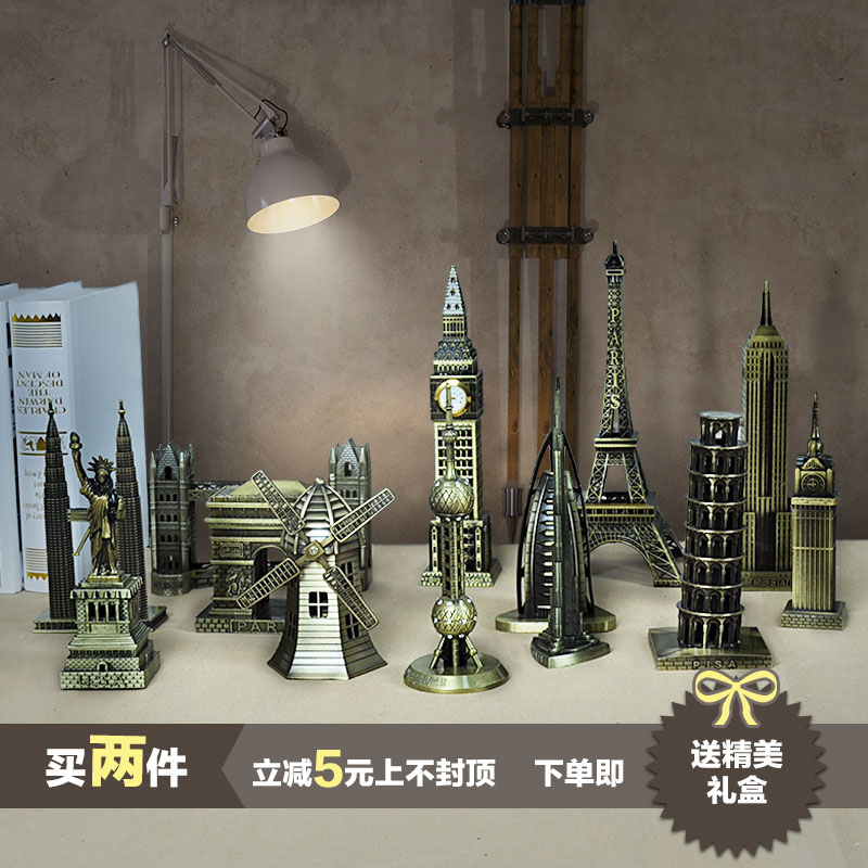 The construction model of paris eiffel tower big ben home for Eiffel tower decorations for the home