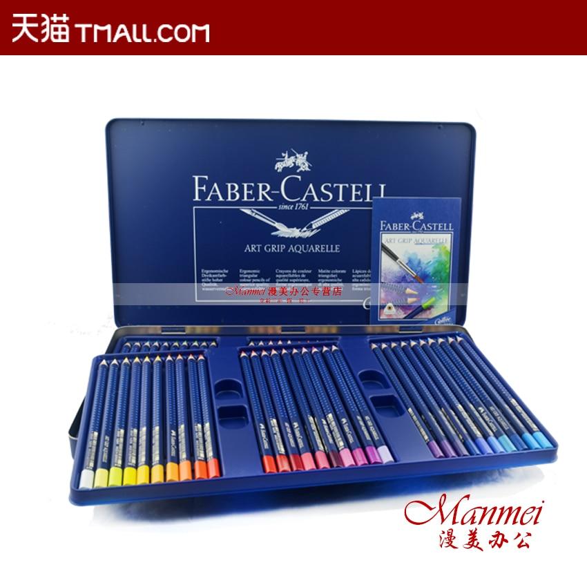 Faber castell bleu étain 60 couleurs crayons de couleur expert