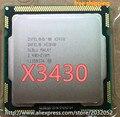 Оригинальный Intel Xeon X3430 Quad Core 2.4 ГГц LGA 1156 8 М Кэш 95 Вт Настольных ПРОЦЕССОРОВ (работает 100% бесплатная Доставка)