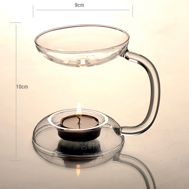 Oil Aroma Candle Oil Burner Hold Tealight ,Fashion Incense Censer Glass Candlestick Handmade Candle Holder Hot selling