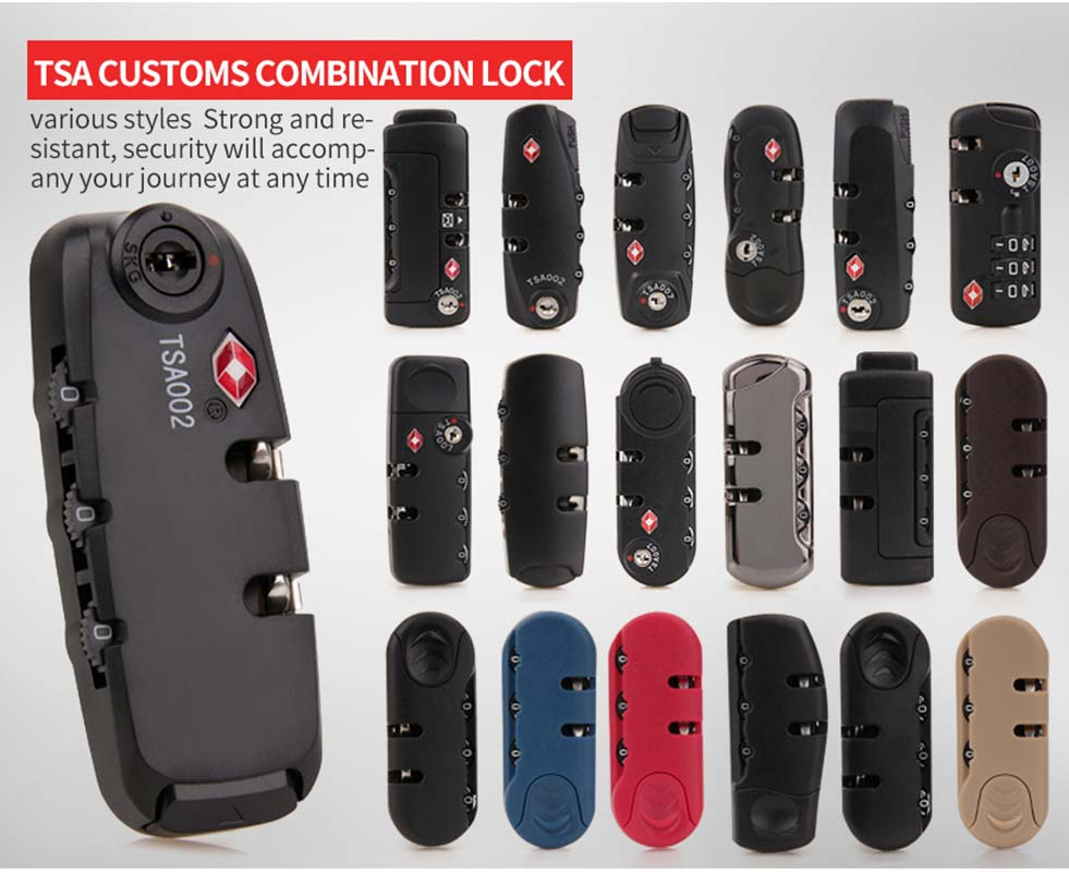 Lock Pick Set Zinc Alloy   Suitcase Code Lock Anti-Theft Locks Number Combination Code  Lock  Coded Keyed Anti-Theft Locks Code