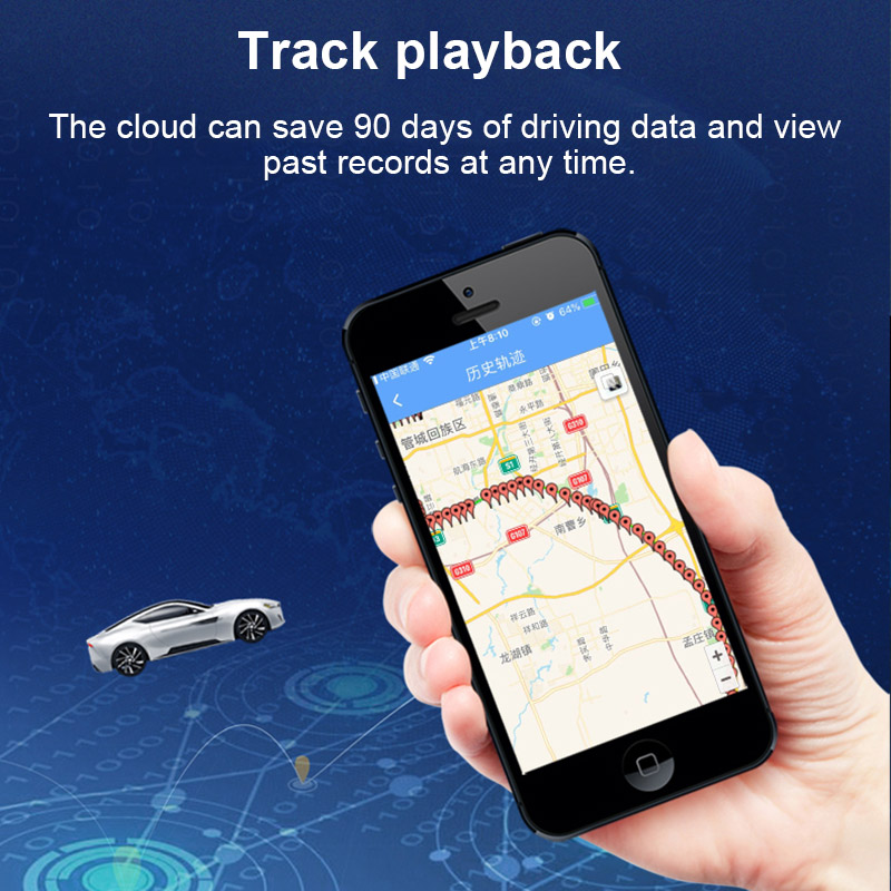 Mini Waterproof Real Time GPS Locator Car GSM AGPS Tracking System for Pets Children Cars XXM8