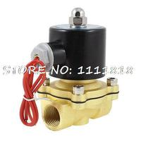 2W 160 15 Direct Action Type 1 2 Pipe Magnetic Gas Solenoid Water Valve AC220V