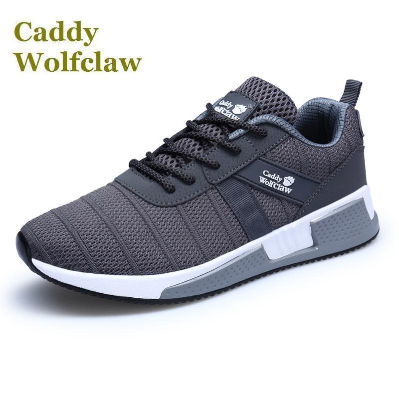 6c2409223925 Nuovo 2018 Caddy wolfclaw degli uomini di marca di scarpe da corsa luce  peso della maglia di estate a piedi scarpe da uomo stile di vita di sport  scarpe ...
