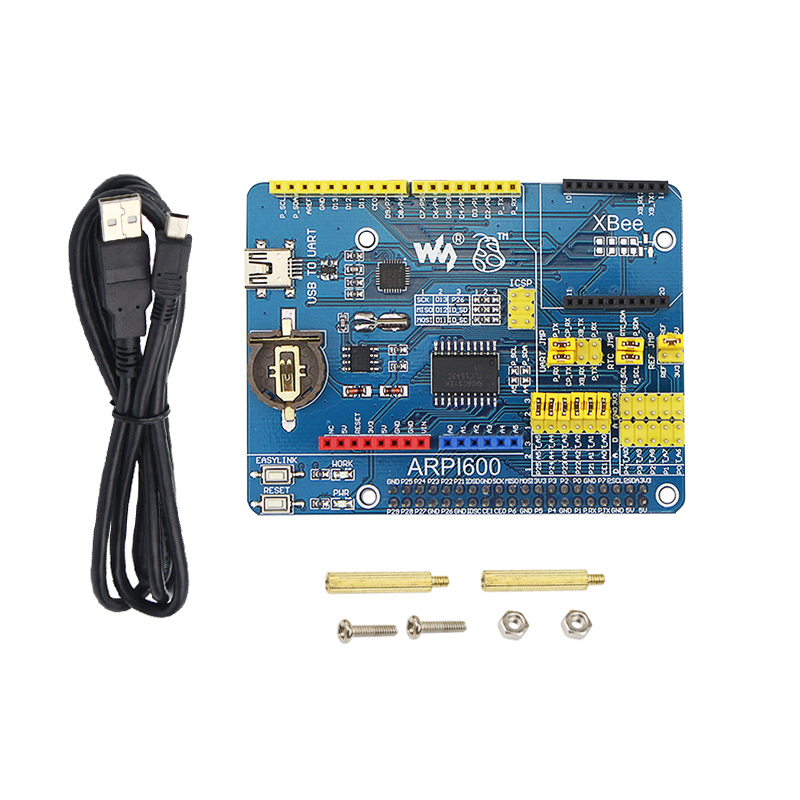 Raspberry Pi 4 Model B Expansion Board ARPI600 SupportsXBEE GSM/GPRS/Motor Control Shield For Development Board DIY For RPI 3B+