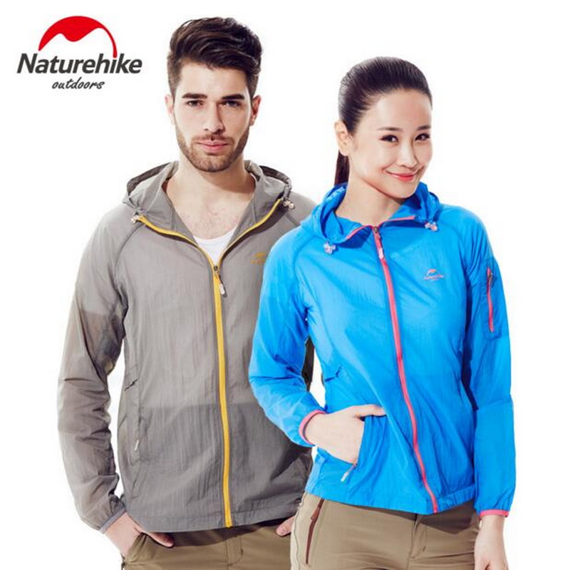 Naturehike Summer sun clothing long-sleeved female skin clothing spring and autumn men's windbreaker sunscreen