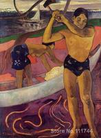 Paintings by Paul Gauguin A man with axe Hand painted oil painting canvas High quality