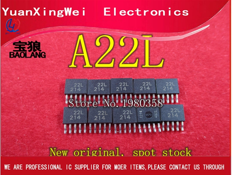 A22L A3422LKA SOP5 stock original New (10pcs/lot) [sa] new japan genuine original rb0806 smc buffer stock 3pcs lot