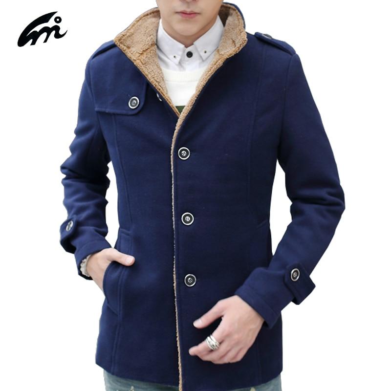 Online Get Cheap Slim Fit Pea Coat Men -Aliexpress.com | Alibaba Group