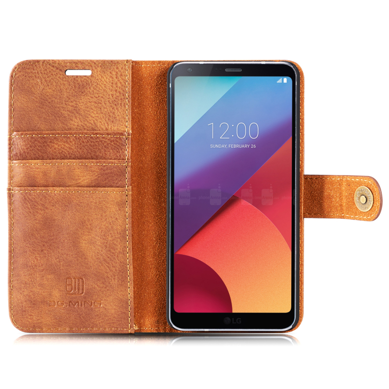 For LG G6 Luxury Leather Case 2 in 1 Detachable Magnetic Wallet Phone Bag Cases Flip Stand Cover for LG G6 5.7 with Card Slots