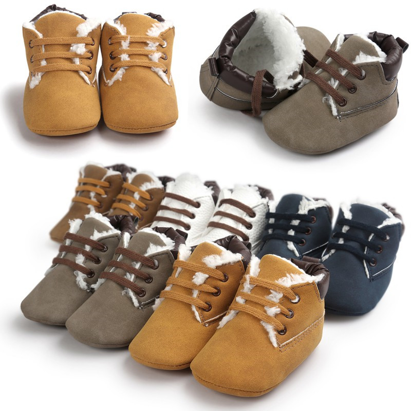 2017 New Hot Sneakers Newborn Baby Boys Girls Casual Soft Shoes Infant Toddler Kids Shoes Winter Autumn Sports Baby Shoes