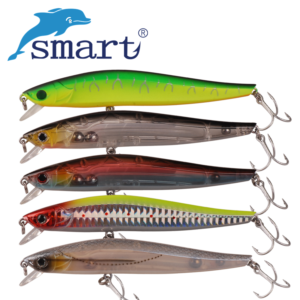 Smart Minnow Fishing Lure 11.5cm/16g Floating Leurre Souple Iscas Artificiais Para Pesca Atacado Fishing Wobblers Swimbait Peche jsfun 100pcs earthworms 4cm artificial fishing lure worm soft lure baits iscas artificiais lote leurre souple fu104